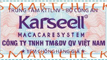 tem chong hang gia K&R Việt Nam